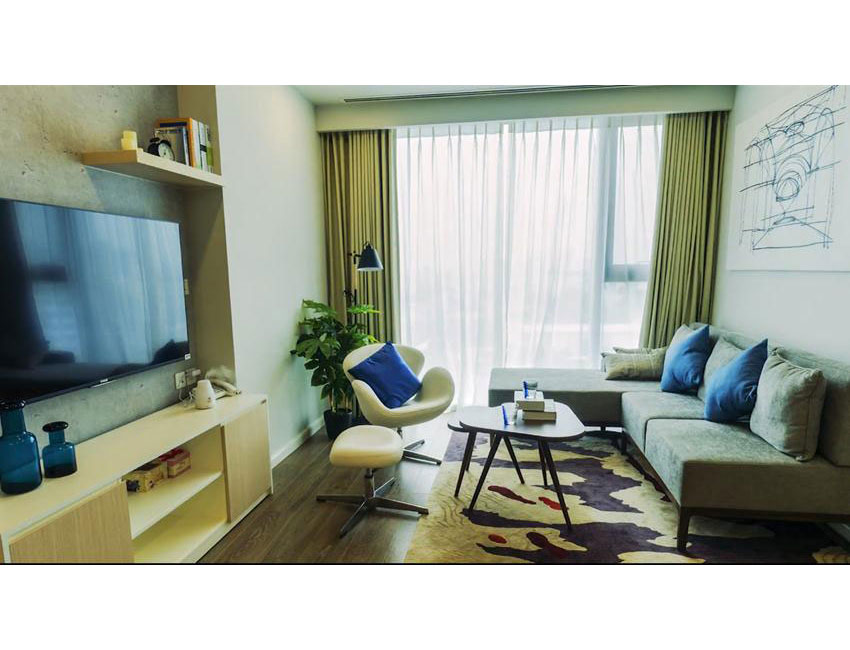BRAND NEW: 2 bedroom apartment in Artemis Le Trong Tan for rent