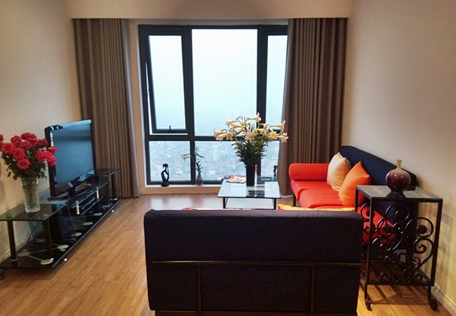 Brand new 2 bedroom apartment in Mipec Riverside Long Bien