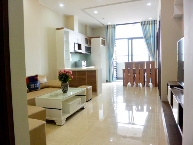 Brand new 2 bedroom apartment in Trang An complex