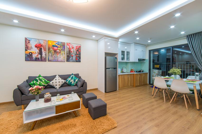 Brand new apartment for rent in Central Field Trung Kinh