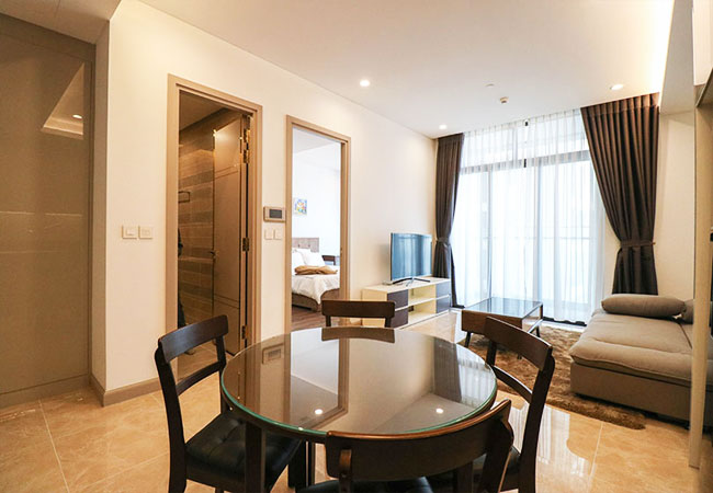 Brand new apartment for rent in Sun Grand City, Hanoi