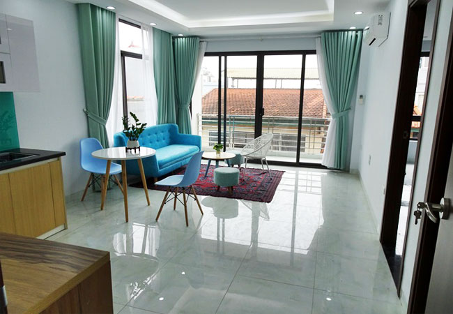 Brand new apartment for rent in Tay Ho district,01 bedroom
