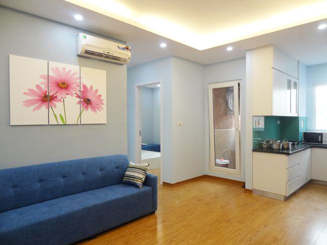 Brand new apartment for rent with 02 bedrooms in Hoang Quoc Viet