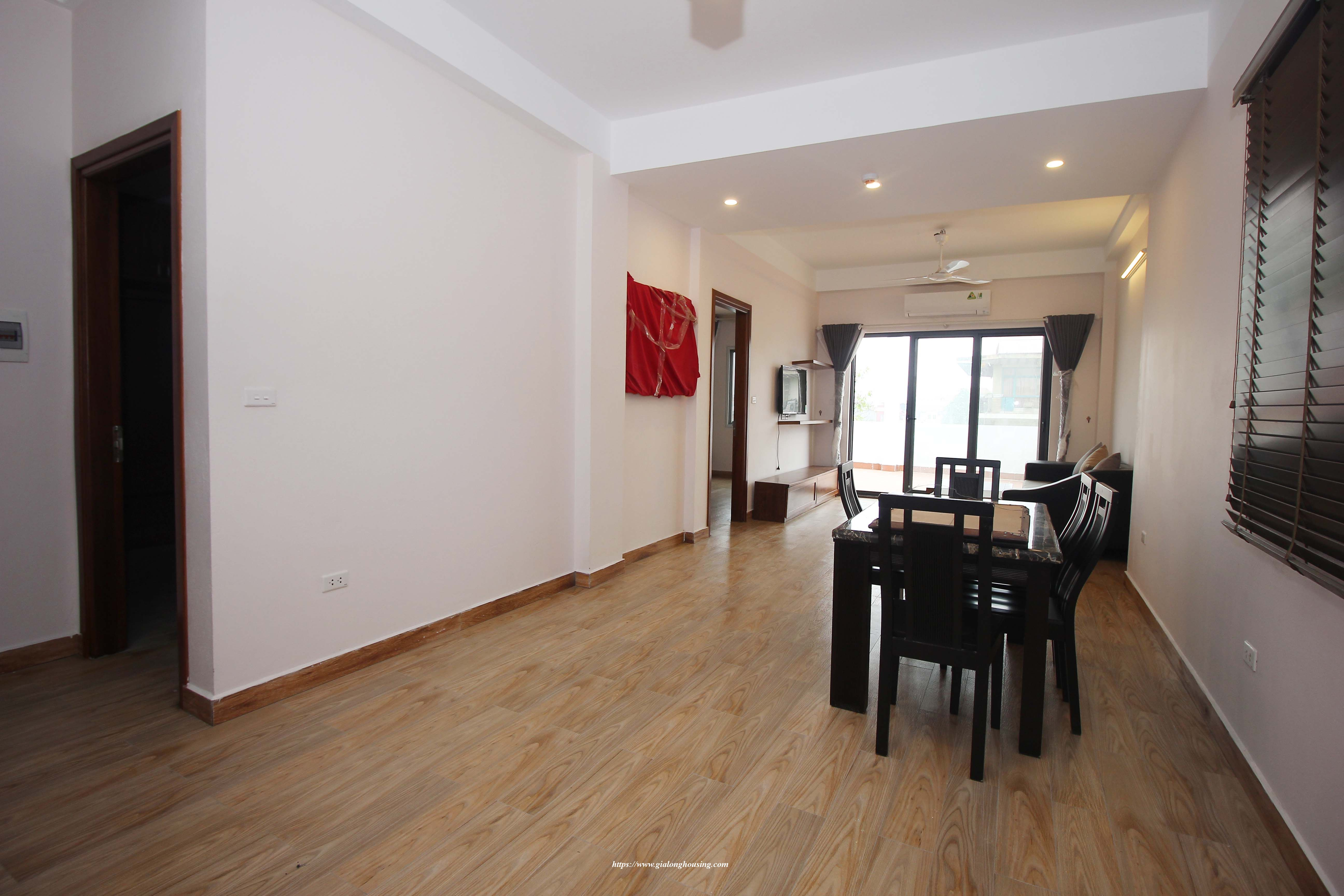 Brand new apartment with huge balcony in Hoang Hoa Tham