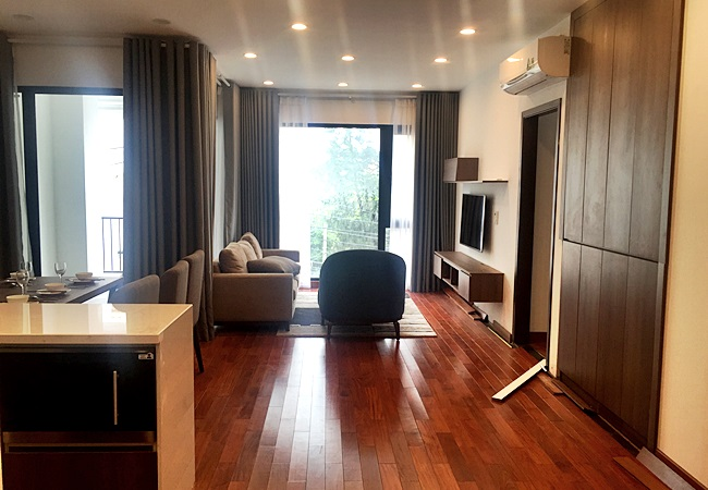 Brand new beautiful apartment in To Ngoc Van for rent
