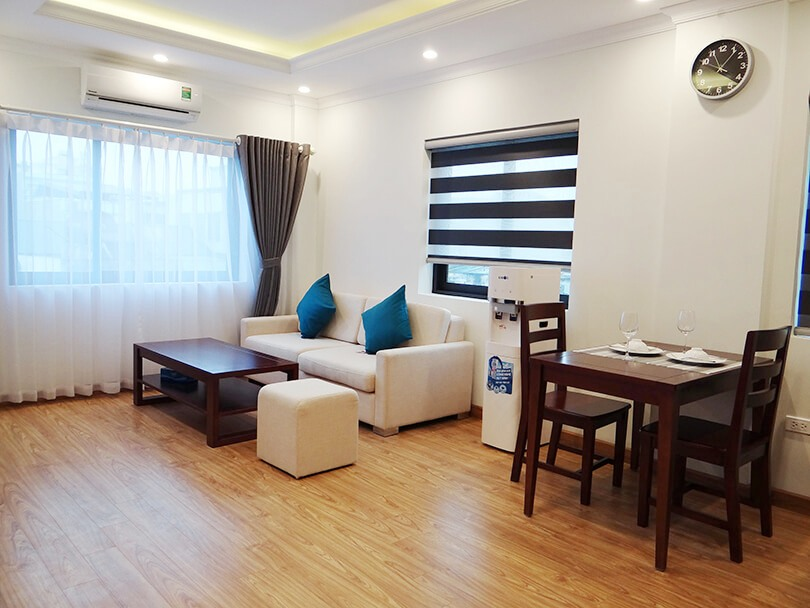 Brand new full services apartment in Kim Ma Thuong with electricity included