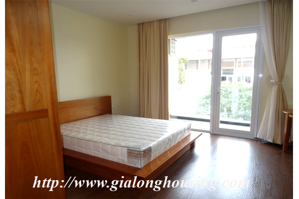 Brand new serviced apartment for rent in Dang Thai Mai street street 9