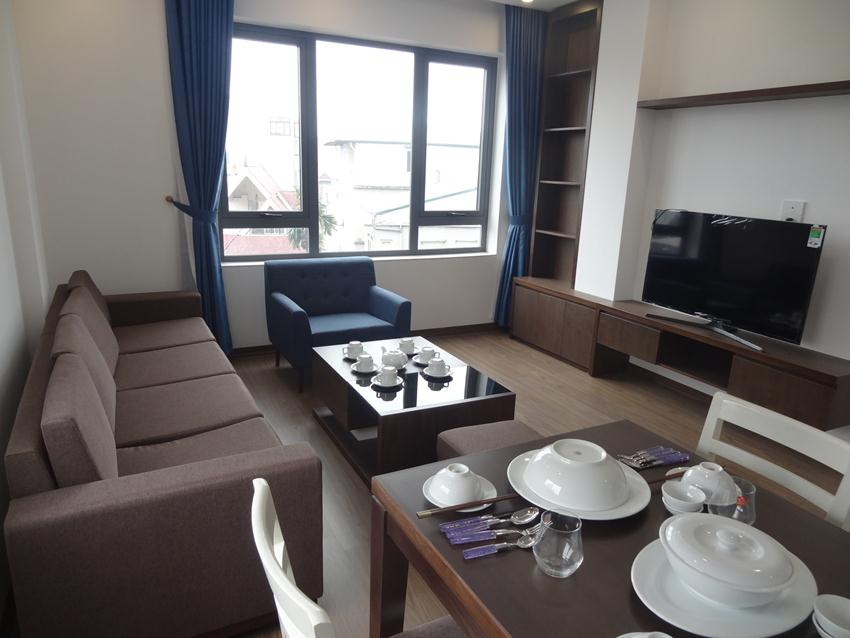 Brand new serviced apartment for rent in To Ngoc Van