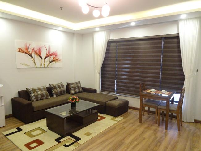 Brand new serviced apartment in Linh Lang for rent