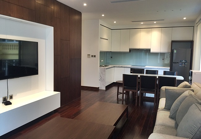 Brand new serviced apartment in Nghi Tam village for rent