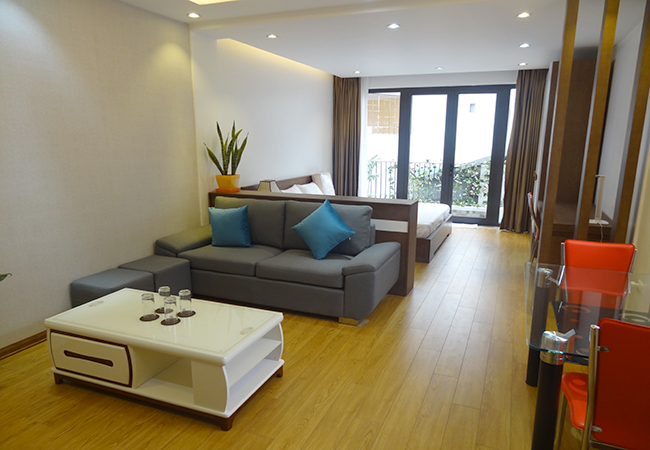 Brand new serviced apartment next to Hoang Cau lake
