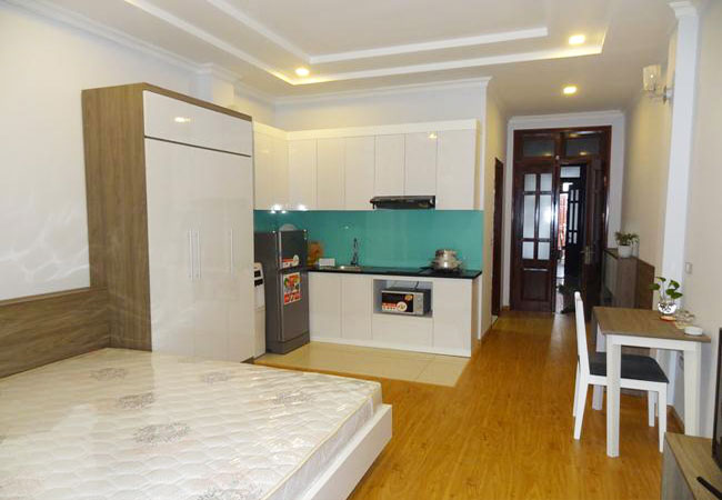 Brand new studio apartment in Nguyen Thi Dinh