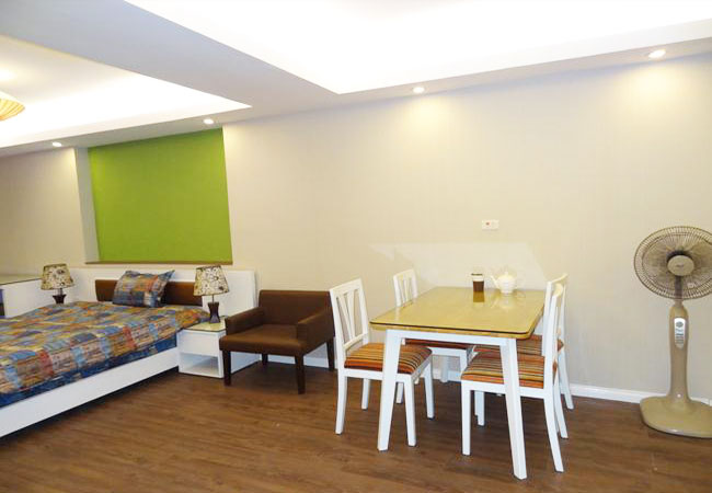 Brand new studio apartment in Trung Hoa, near Trung Yen Plaza