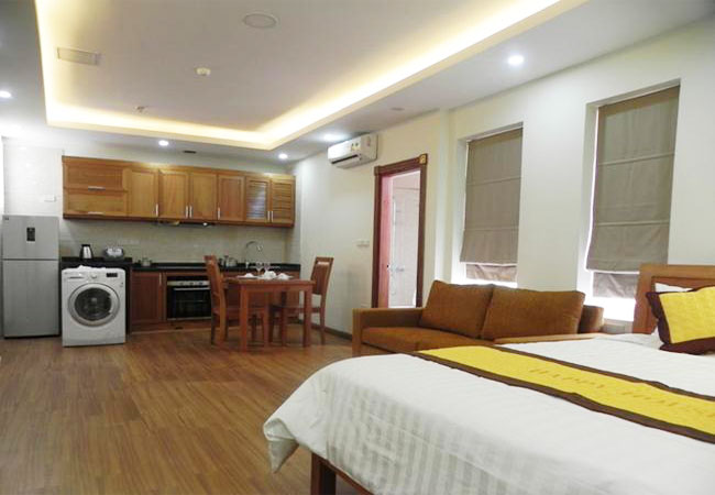 Brand new studio serviced apartment in Pham Ngoc Thach for rent