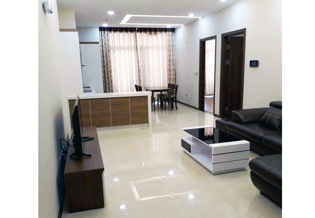 Brand new two bedroom apartment in Trang An complex