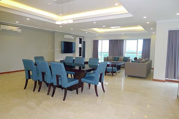 Brand-new, spacious apartment for rent in Ciputra,L building