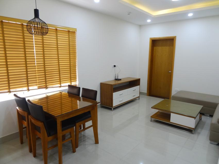 Bright and nice apartment in Thai Ha for rent