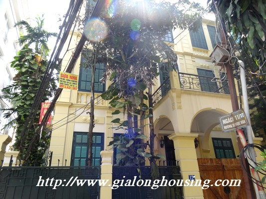 Charming House for rent in To Ngoc Van street,tay ho 1