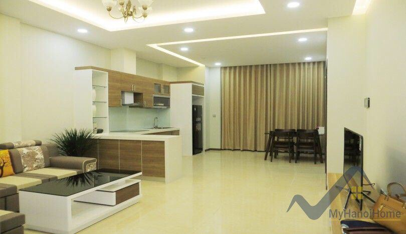 Cozy Apartment In Trang An Complex For Rent With Nice Furniture