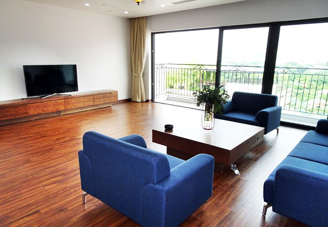 Duplex apartment for rent in Tay Ho district,lake view