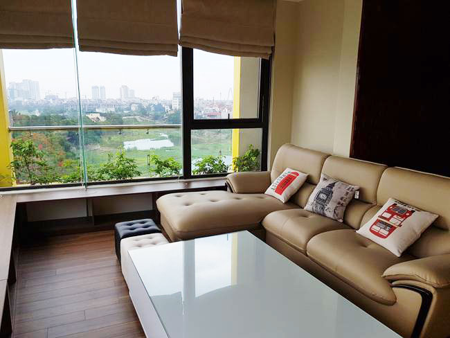 Duplex penthouse apartment in To Ngoc Van street, lake view