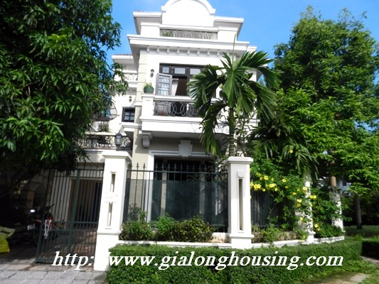 Full furnished villa for rent in Ciputra Urban 1