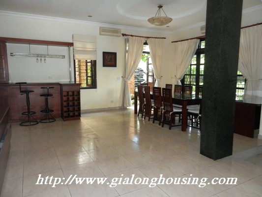 Full furnished villa for rent in Ciputra Urban 17