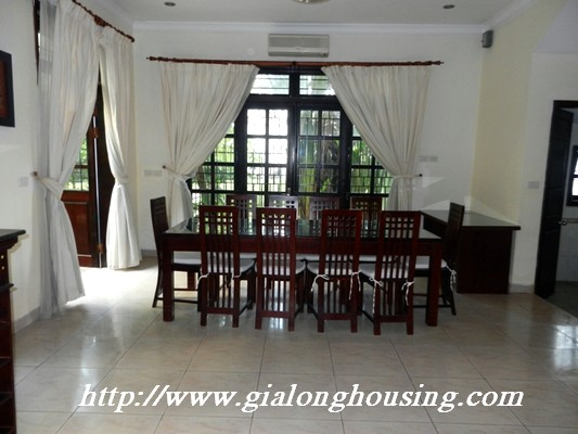 Full furnished villa for rent in Ciputra Urban 18