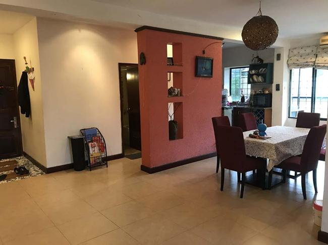 Fully furnished 3 bedroom apartment in Lang Ha for rent