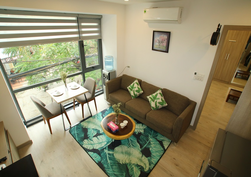 Fully furnished apartment for rent in Hoang Quoc Viet