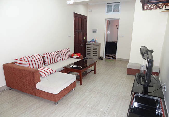 Fully furnished apartment in Cong Vu Hoang Cau building