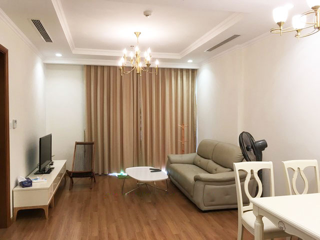 Fully furnished apartment in high floor of Vinhomes