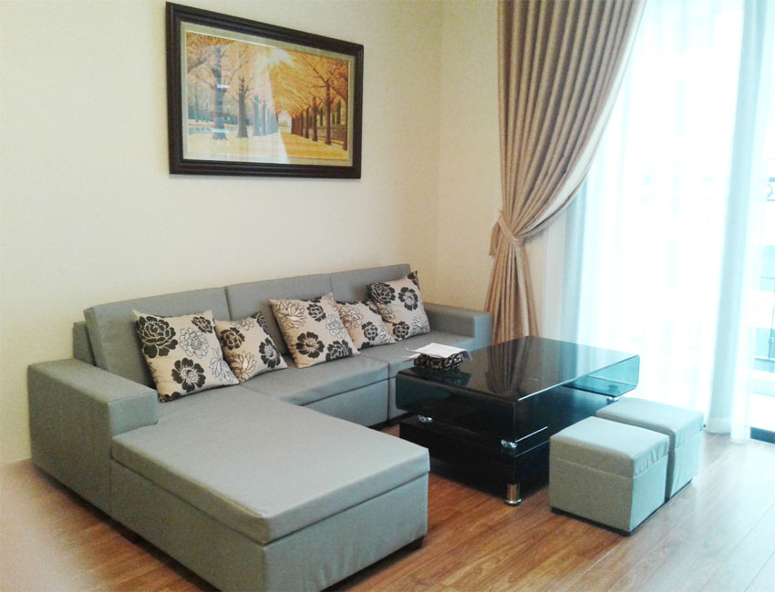 Fully furnished apartment in Sky City 88 Lang Ha