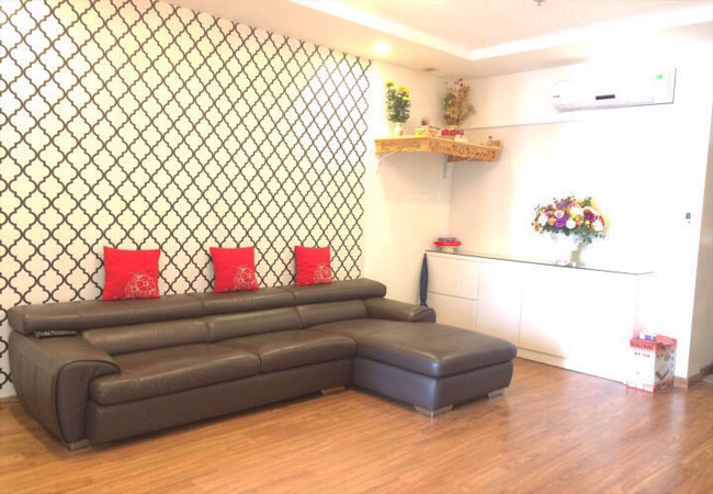 Fully furnished apartment in T 8 building for rent