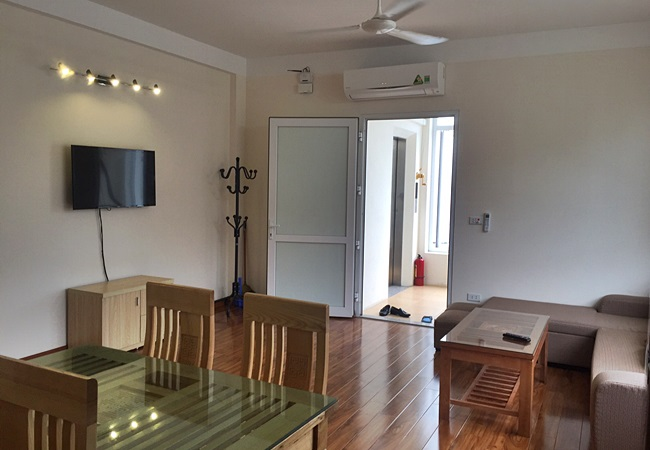 Fully furnished apartment in Xuan Dieu at $550