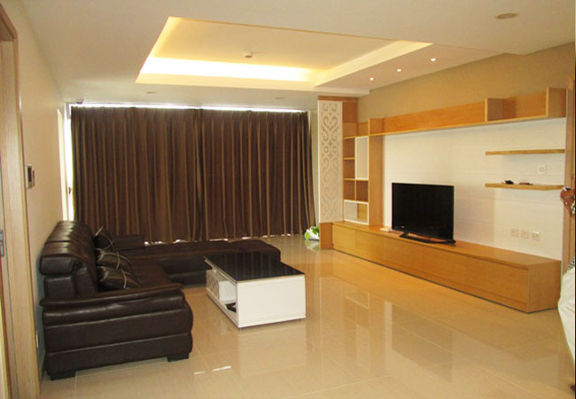 Fully furnished apartment with 04 bedrooms for rent in Thang Long no 1