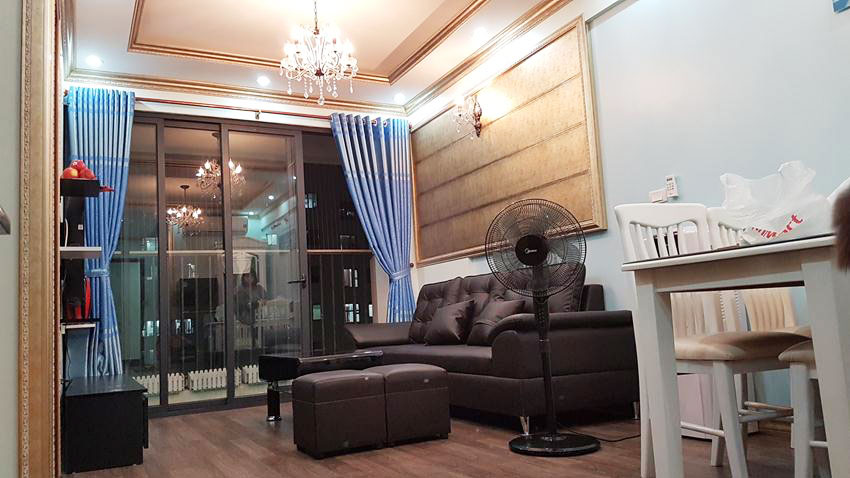 Fully furnished apartment with 2 bedrooms in high floor, Green Stars