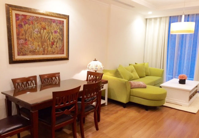 Fully furnished two bedroom apartment in Vinhomes