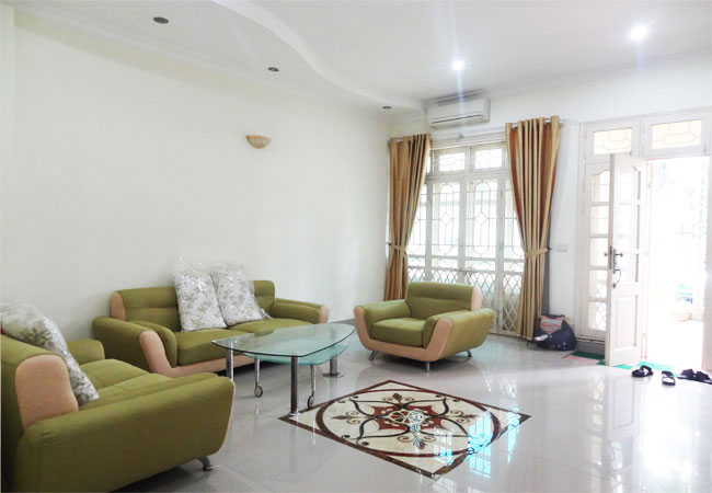 Fully furnished villa in C block, Ciputra urban area