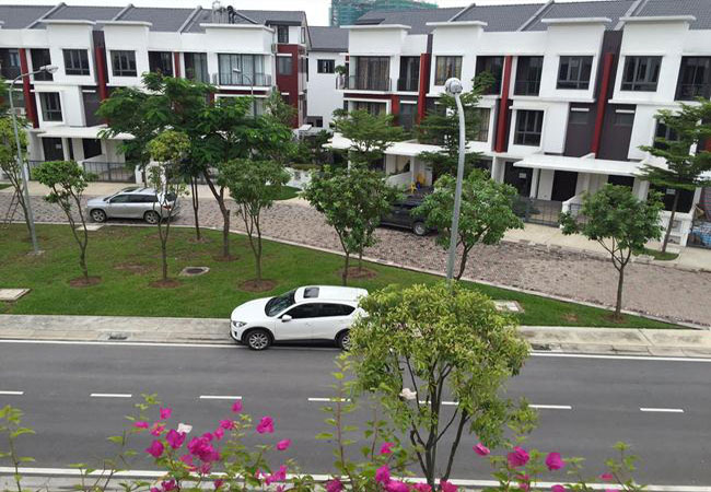 Gamuda Garden villa for rent with full furniture