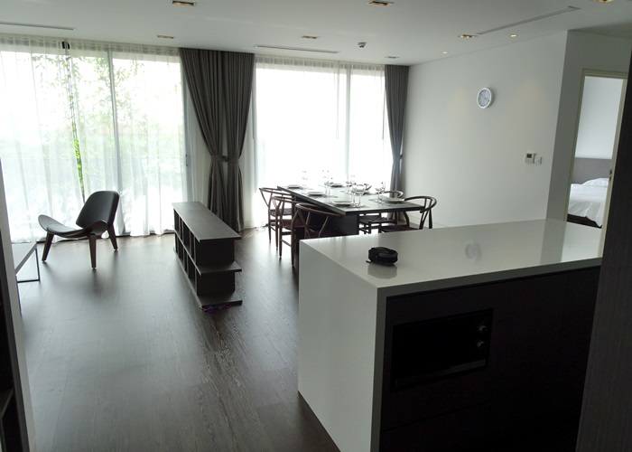 High class apartment for rent in To Ngoc Van with open view