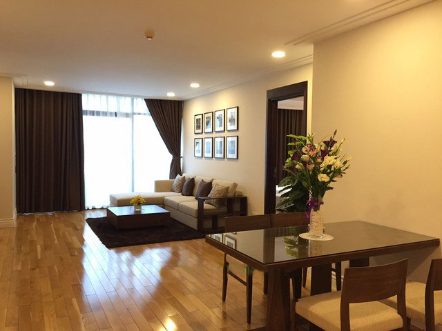 High class apartment in  high floor of Hoang Thanh Tower