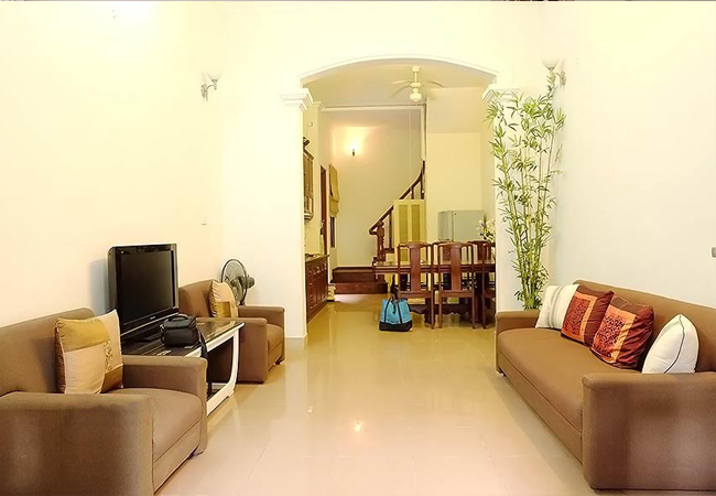 House for rent in Hoan Kiem district,4 bedroom