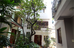 House for rent in Hoan Kiem,balcony,court yard,good prices