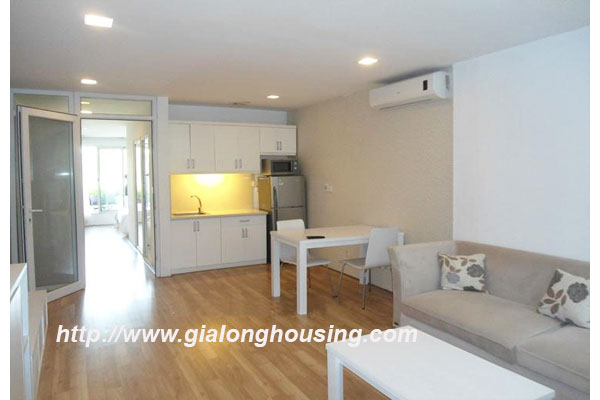 Japanese style apartment for rent in Hoan Kiem district