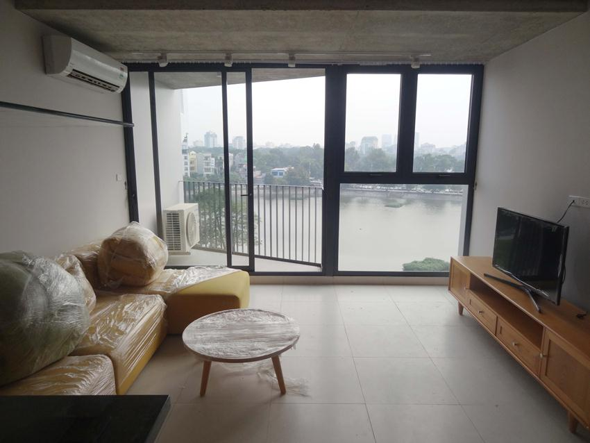 Lake front duplex apartment for rent in Ba Mau lake