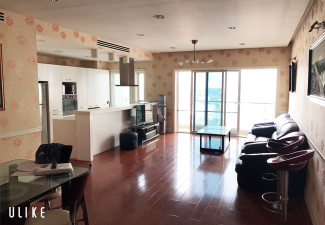 lake view apartment for rent in Golden Westlake, 02 bedroom