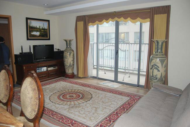 Large apartment in high floor with full furniture in Sky City 88 Lang Ha