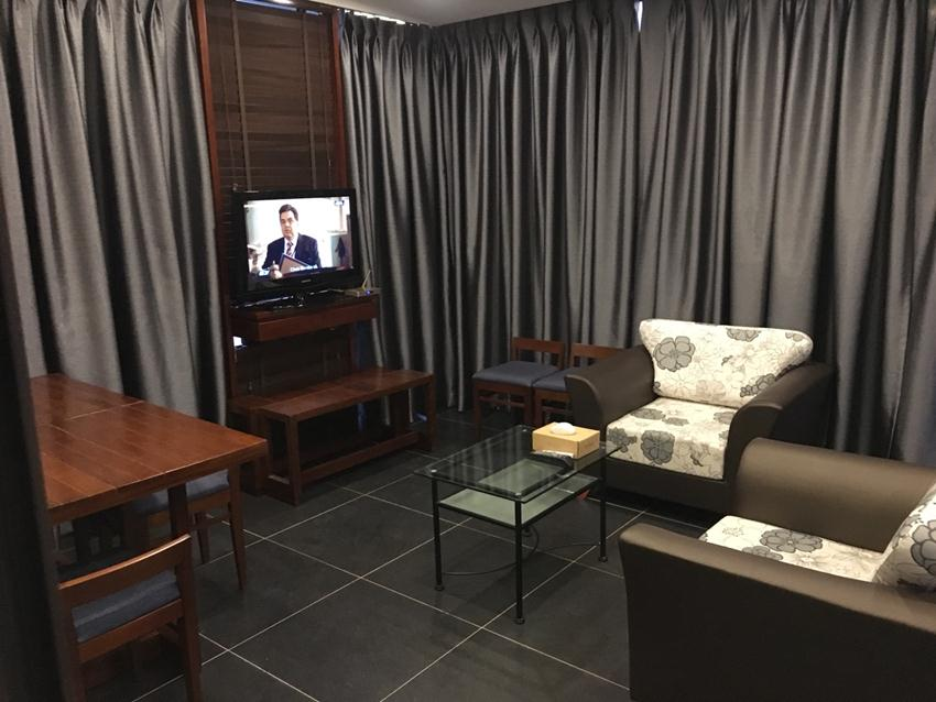 Linh Lang rooftop studio serviced apartment