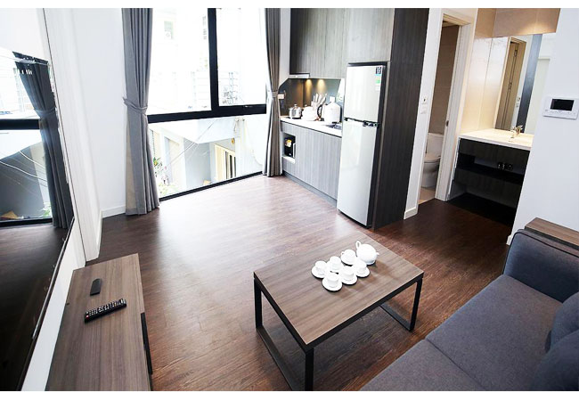 Lovely 01 bedroom apartment for rent in Tay Ho street
